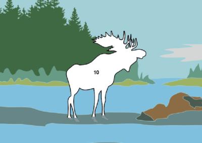 Moose sketch 5